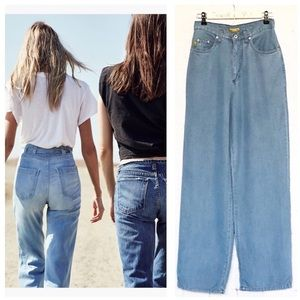Pulp Retro high waisted wide leg jeans